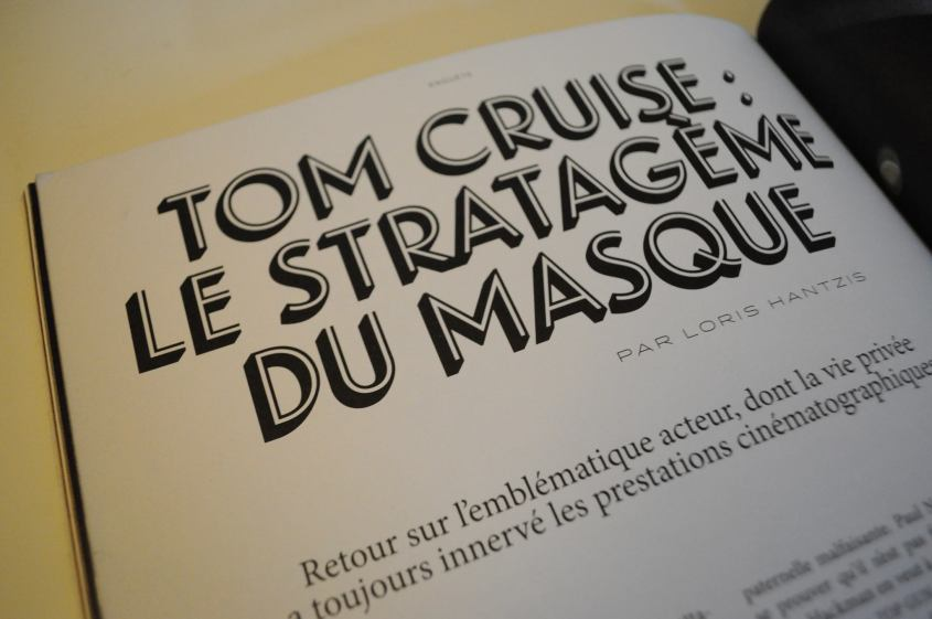 Tom Cruise La septième obsession
